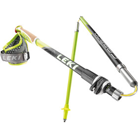 LEKI Micro Trail Vario Bastones Trail Running plegable, green/black/anthracite/white